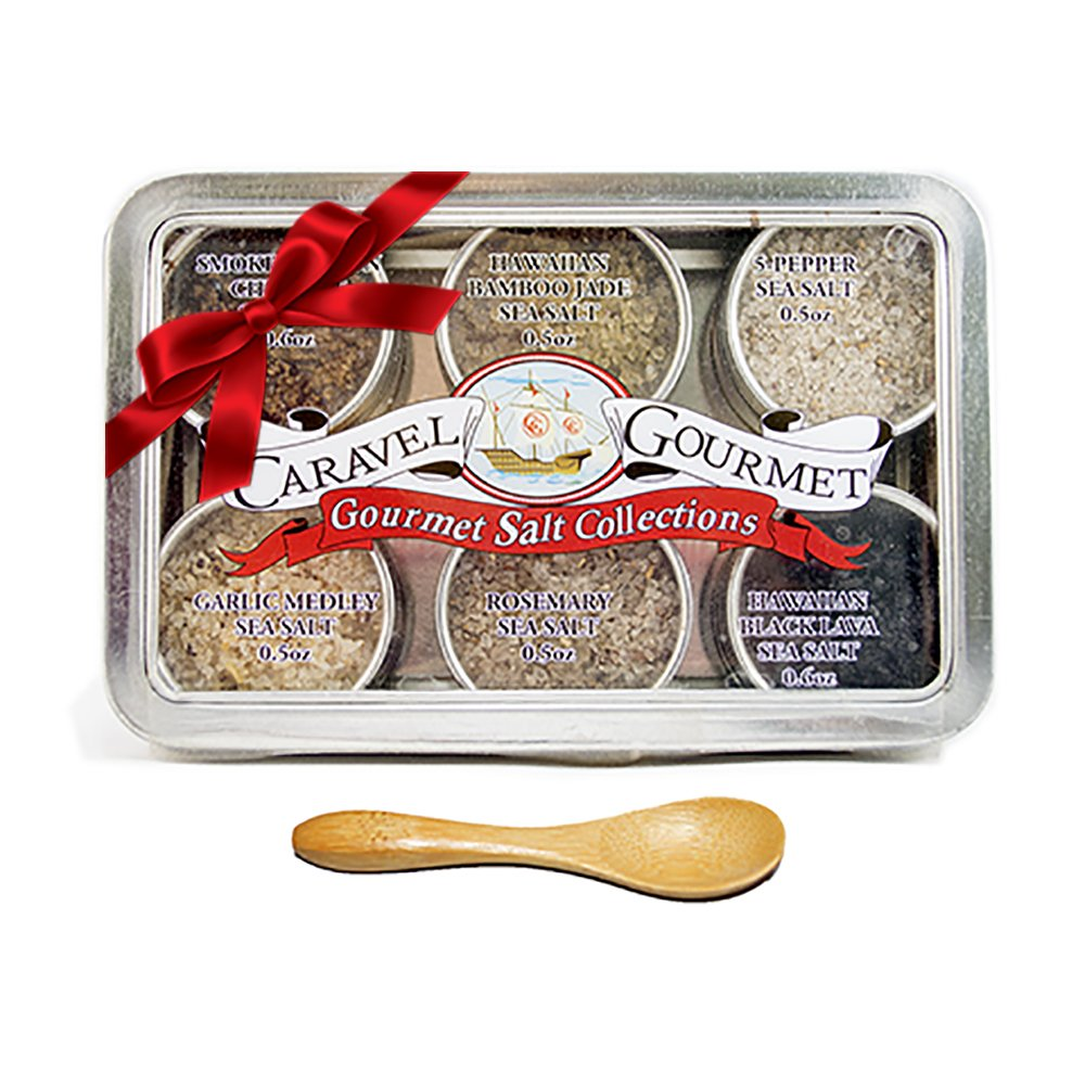 Gourmet Sea Salt Gift Set Infused w/Natural Herbs & Spices