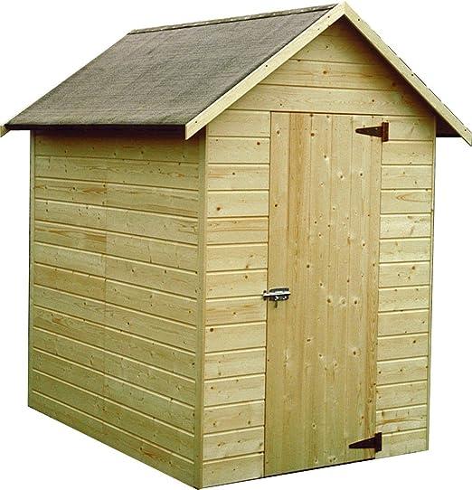 Decor et Jardin Ambeal – Caseta de madera para jardín 12 mm, 1,98 m²: Amazon.es: Hogar