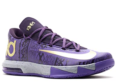 nike KD VI BHM mens basketball trainers 646742 black history month sneakers  shoes (UK 7
