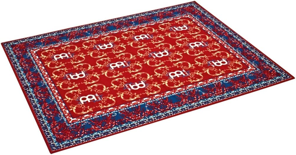 Meinl Percussion Drum Set Rug, 78 X 63 Inches, Tightly Woven Fabric With Non-Slip Grip Bottom, Oriental