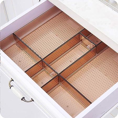 LYY Caja de Almacenamiento PS Acabado Bandeja Cubiertos Caja de cajón Separación Combinación Libre 3 Estilos Compartimiento (Size : 30X60CM): Amazon.es: Hogar