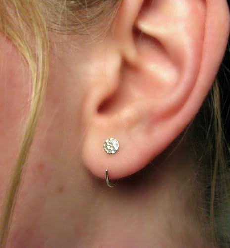 Hoop Earrings SS HUG EAR