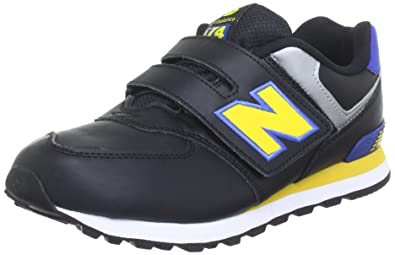 Campo visitante envase  New Balance KV574 M (Youth) - Caña Baja de Material sintético niño, Color  Negro, Talla 32: Amazon.es: Zapatos y complementos