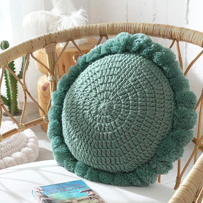 Amazon.com: DUOYIZI Almohada de tela acrílica para sofá o ...