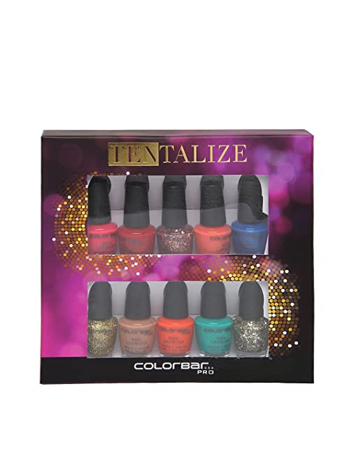 Buy Colorbar Tentalize Nail Kit Online at Low Prices in India ...