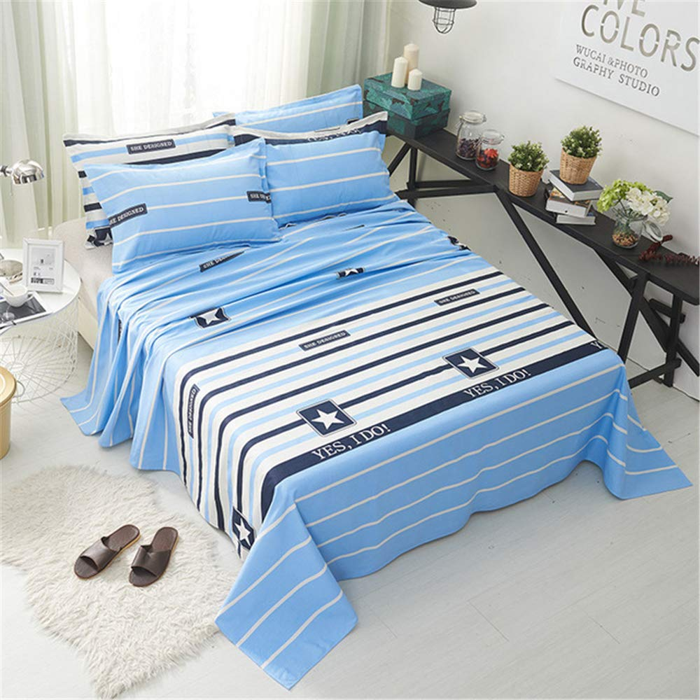 FENGDONG Bed sheetsbrushed Bed Sheet Student Dormitory Bed Sheet by FENGDONG