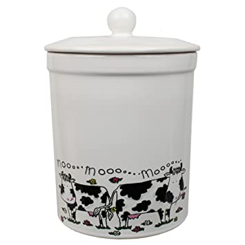 white cow design ceramic compost caddy melbury kitchen ceramic compost bin for food waste recycling