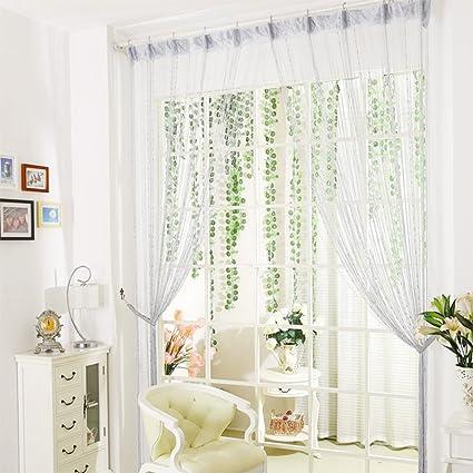 Vidillo Tenda Colorato perline tenda camera da letto 100 x 200 cm ...