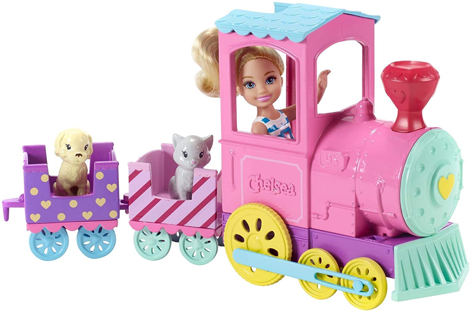 Barbie Chelsea Doll And Choo-choo Train