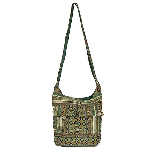 53311c6dc355 Amazon.com: Stylish Sling Bag-Cum-Jhola Bag Hobo Style-Green: Shoes