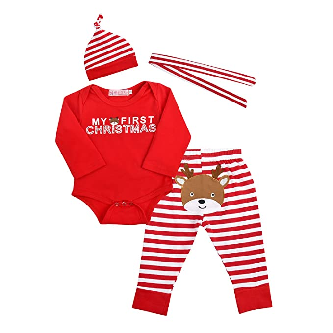 Pelele para bebé, diseño navideño, caliente Rouge* 0-3 Meses: Amazon.es: Ropa y accesorios