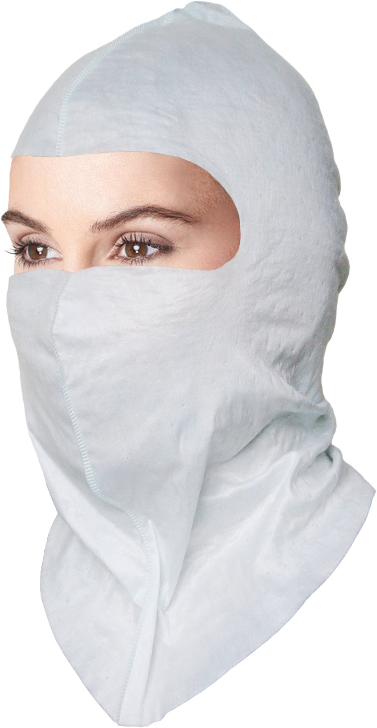 BioSafety Soft-stretch Hood, Critical Addition to Biohazard Control Infection Prevention N95 Mask Tyvek HazMat PPE. $2.7 Ea, 50 Per Box