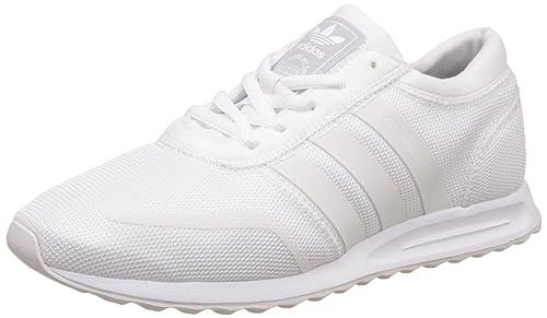 Adidas Los Angeles, Zapatilla de Deporte Baja del Cuello Unisex Niños, Blanco FTWR White, 36 2/3 EU: Amazon.es: Zapatos y complementos