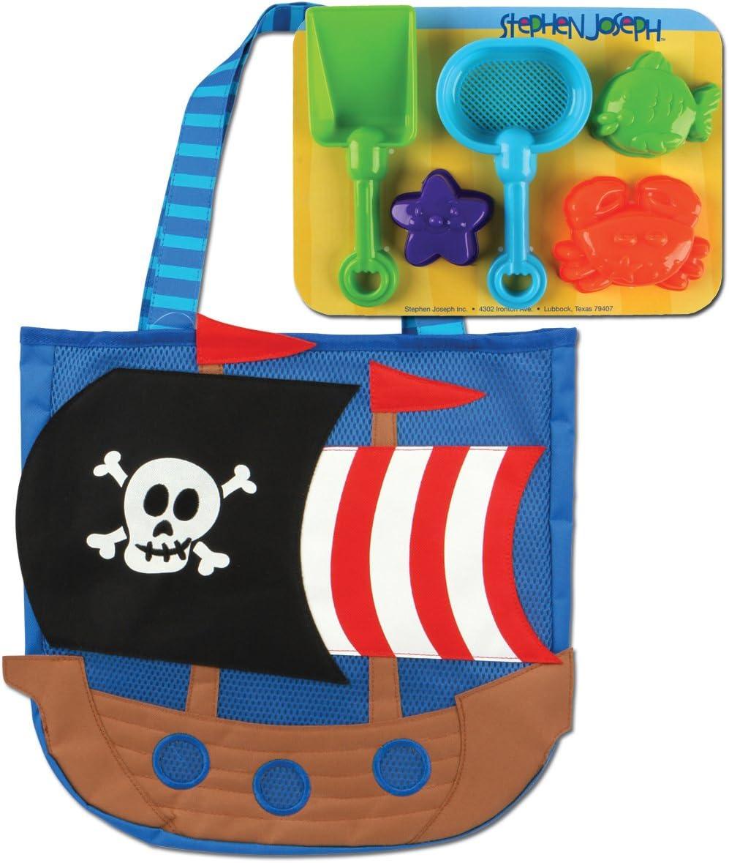 Stephen Joseph Beach Bucket Pirate
