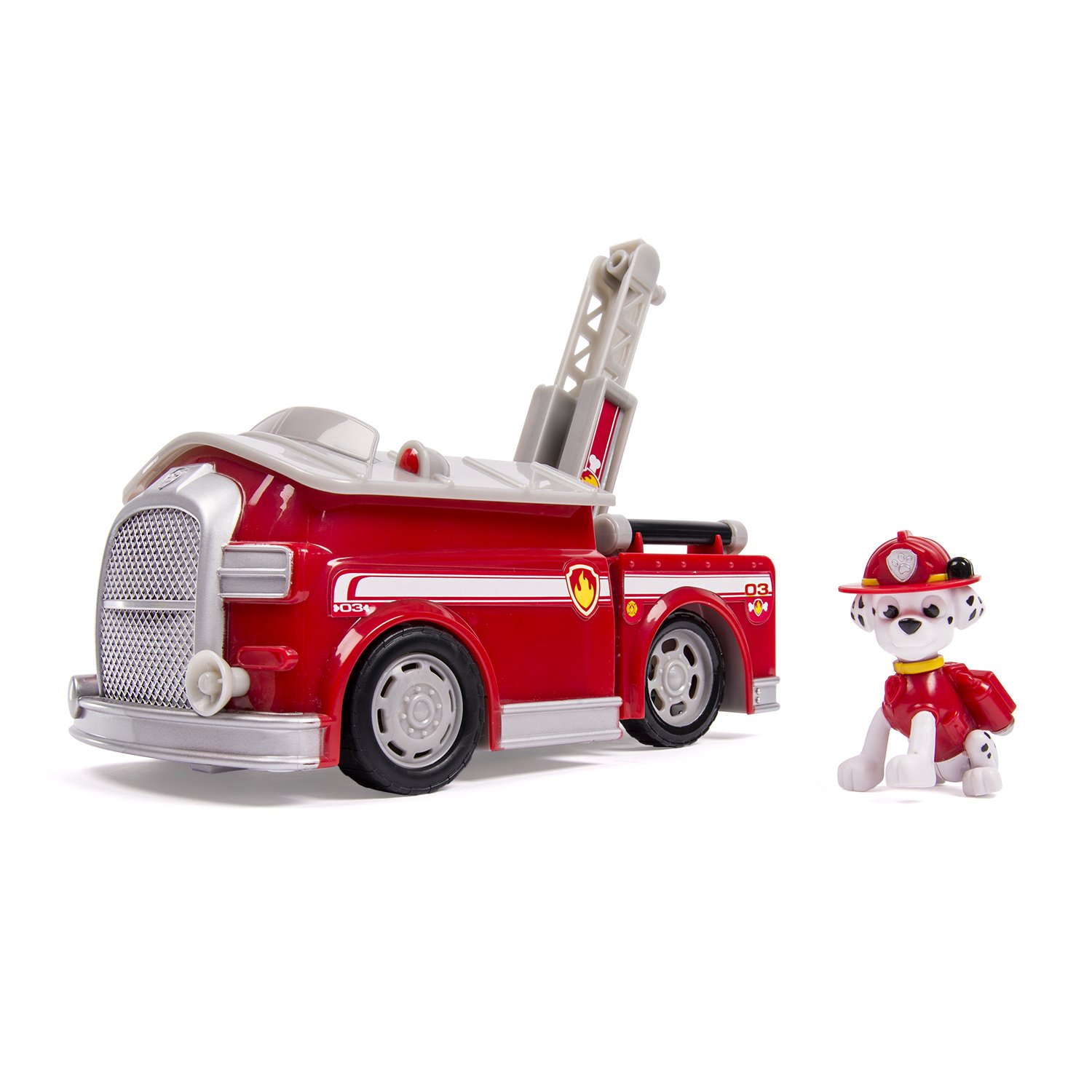 paw patrol 6023996 fire engine deluxe marcus french version