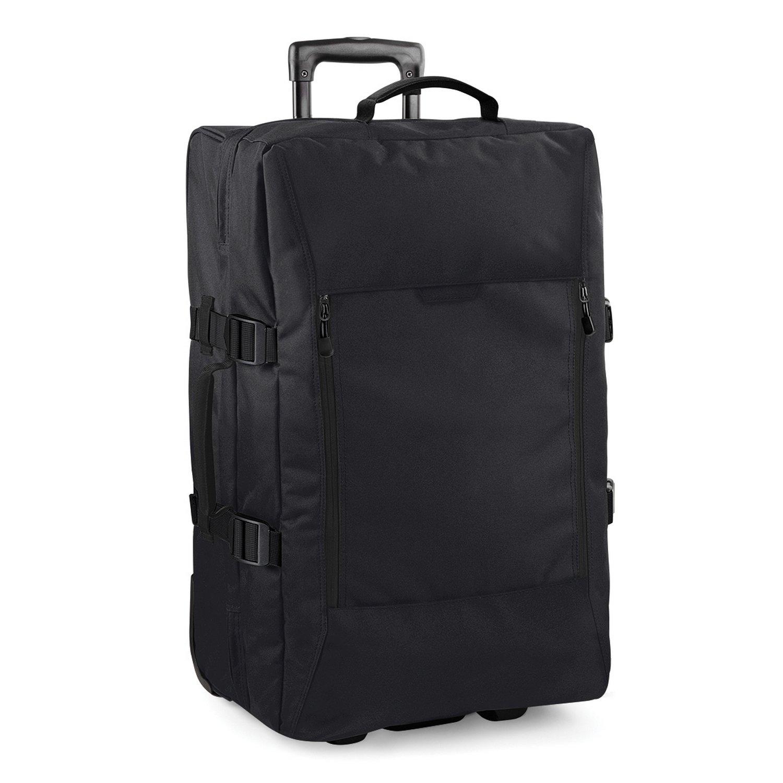 (バッグベース) Bagbase Escape デュアルレイヤー ミディアム キャビン ウィーリー トラベルバッグ スーツケース 旅行鞄 (75L) B0135IA6SO ブラック ワンサイズ