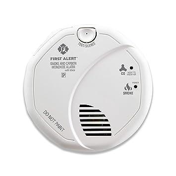 First Alert sc7010b Hardwire fotoeléctrico de Humo y ...