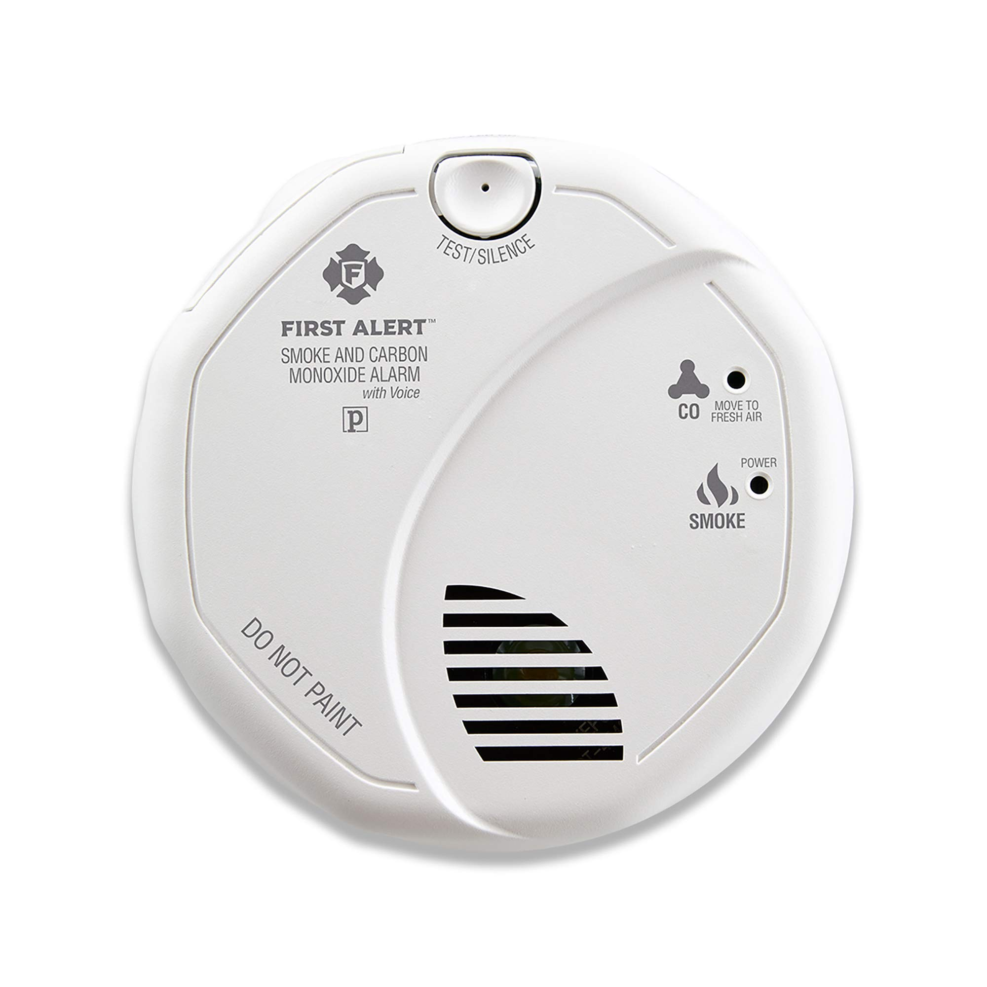 First Alert BRK SC7010B Hardwired Smoke and Carbon Monoxide (CO) Detector with Battery Backup