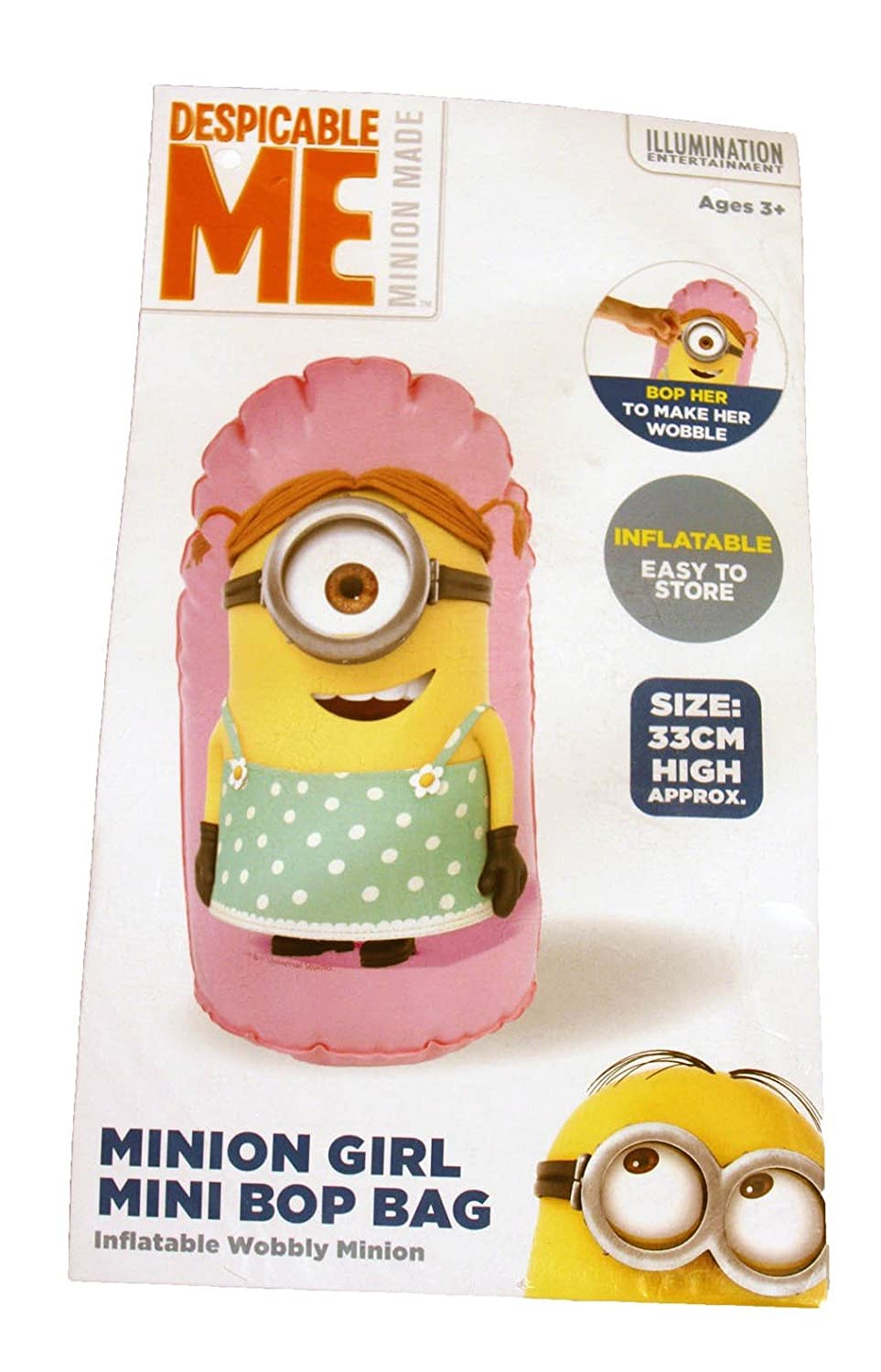 Hinchable tentetieso Minions Bop Bag 33cm surtido: Amazon.es ...