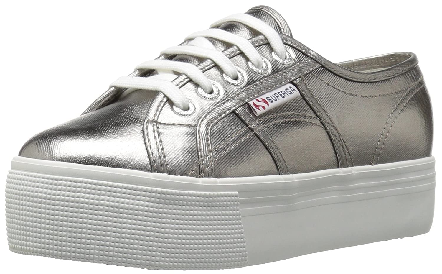 Superga Women's 2790 Cotmetu Fashion Sneaker B0718X3YG6 40 M EU / 9 B(M) US|Grey