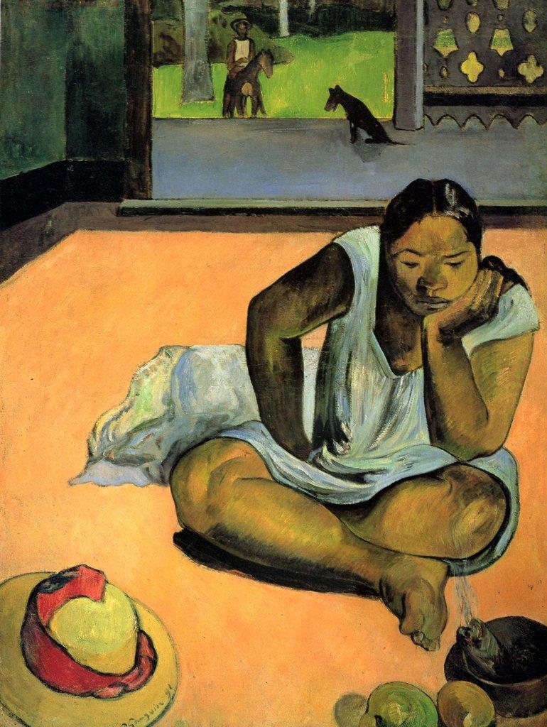 Lais Puzzle Paul Gauguin - Die Schmollende (Te faaturuma) 2000 Teile