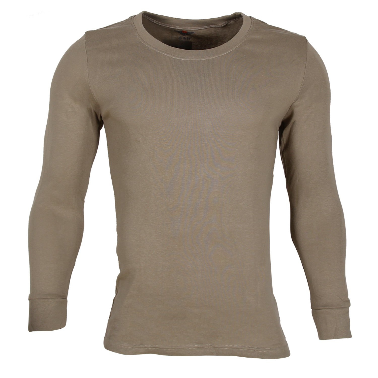 Godsen Men's Cotton Thermal Underwear Long Sleeve T-Shirt Top 8521801A