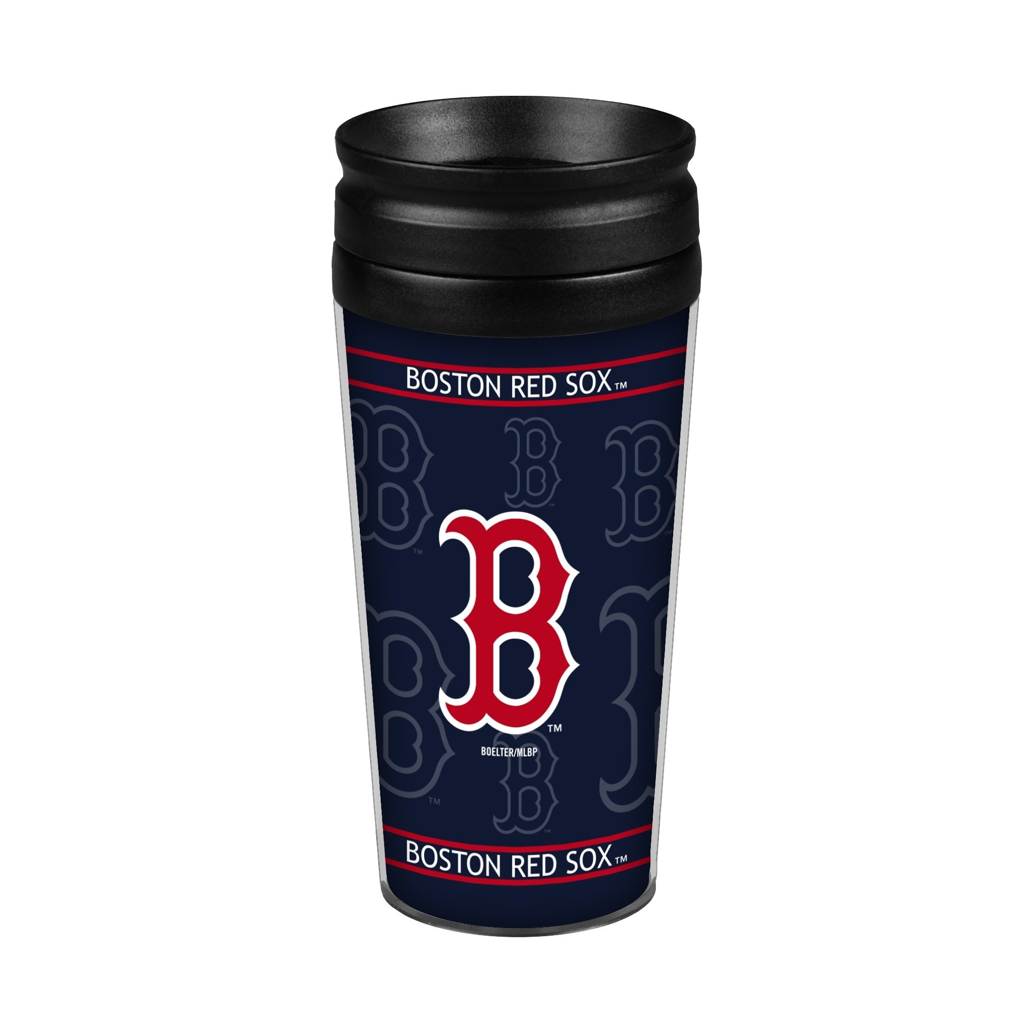 Boston Red Sox 14oz. Full Wrap Travel Mug by Boelter Brands