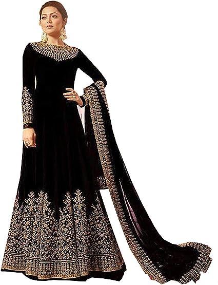 Womens Anarkali Salwar Kameez Designer Indian Dress Ethnic Party Embroidered Gown