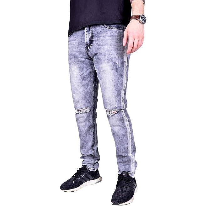 Amazon.com: Waimea - Pantalones vaqueros ajustados para ...