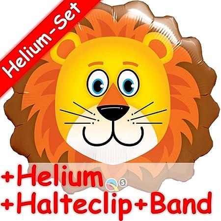 Unbekannt Shape Globo Juego * * León + Helium Relleno + Clip ...