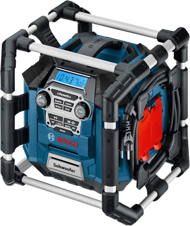 Bosch Professional GML 20 Professional Radio, Negro (Azul, Gris, Rojo)