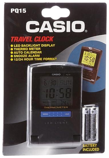 Casio PQ15-1KP - Reloj de Cuarzo Gris: Amazon.es: Relojes