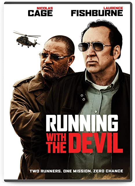 RUNNING WITH THE DEVIL: Nicolas Cage: Amazon.com.br: DVD e Blu-ray