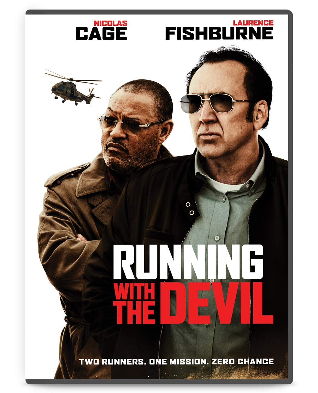 Book Cover: RUNNING WITH THE DEVIL