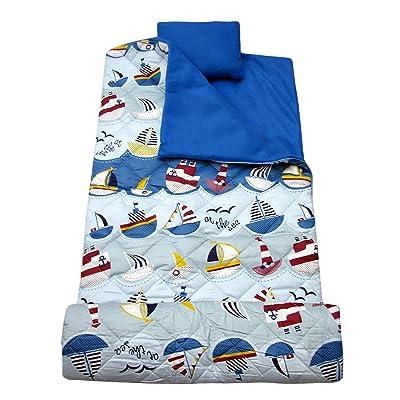 SoHo Kids Sleeping Bag 50 Degree, at The Sea: Home & Kitchen