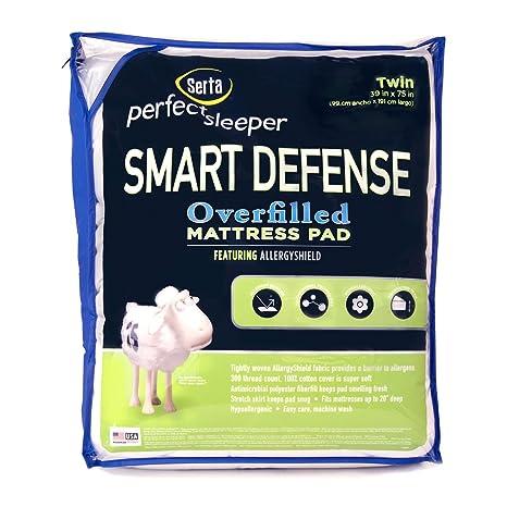 Serta Smart defensa protector de colchón (rey)