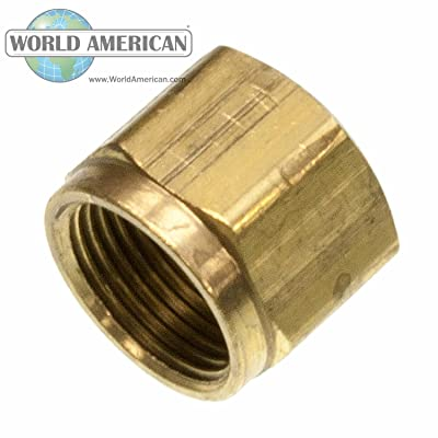 World American WA01-5245 Hose Connector Plain Nut: Automotive