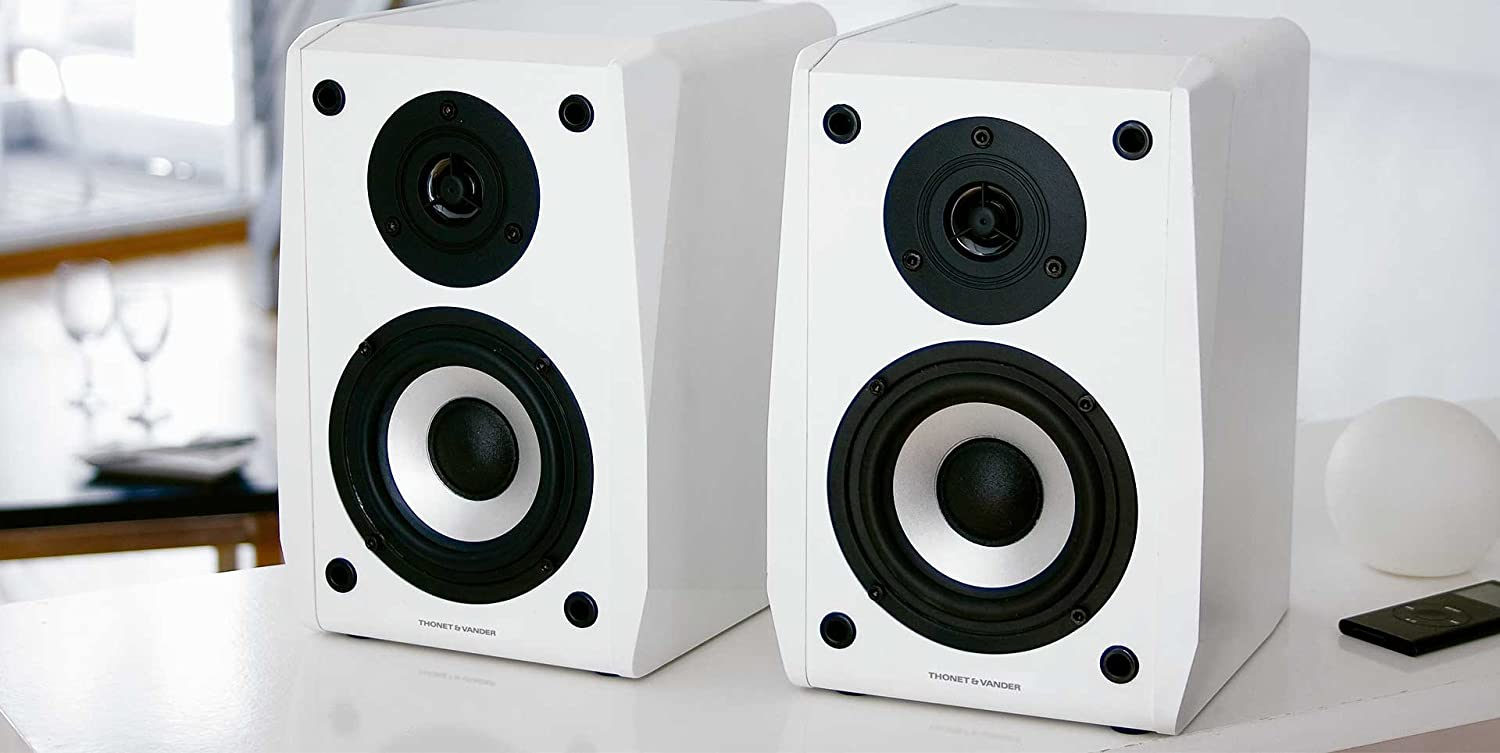 Thonet and Vander VERTRAG - 2.0 Wooden Bookshelf Speakers (black ...