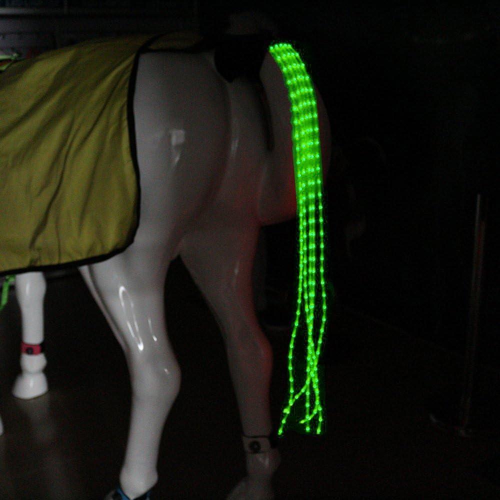 USB recargable caballo luces traseras para Equestrian deportes al aire libre noche protección Gear (39.37