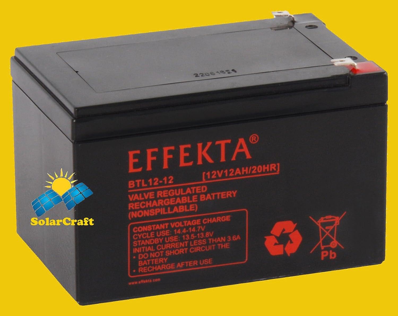 AGM plomb pile 3xBatterie 12v 12ah compatible pour elektroscooter E-bike scooter EFFEKTA