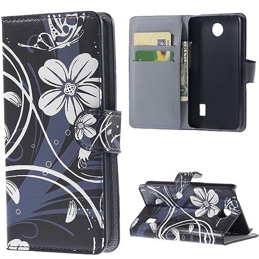 46 opinioni per Huawei Ascend Y635 Smartphone Pelle,Portafoglio Casi in Pelle Protettiva Flip