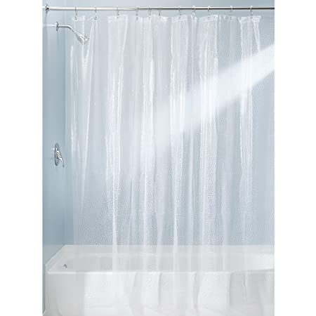InterDesign 180 X 200 Cm Rain Shower Curtain Clear Amazoncouk Kitchen Home