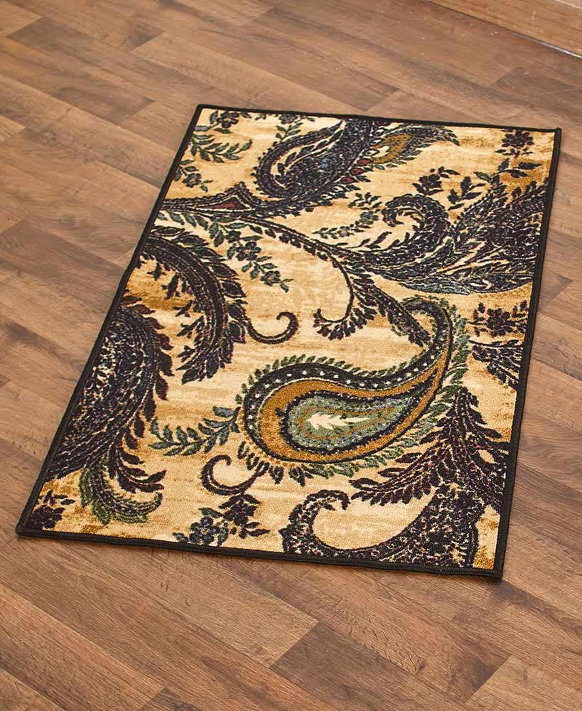 The Lakeside Collection 26x45 Oversized Accent Rug Paisley