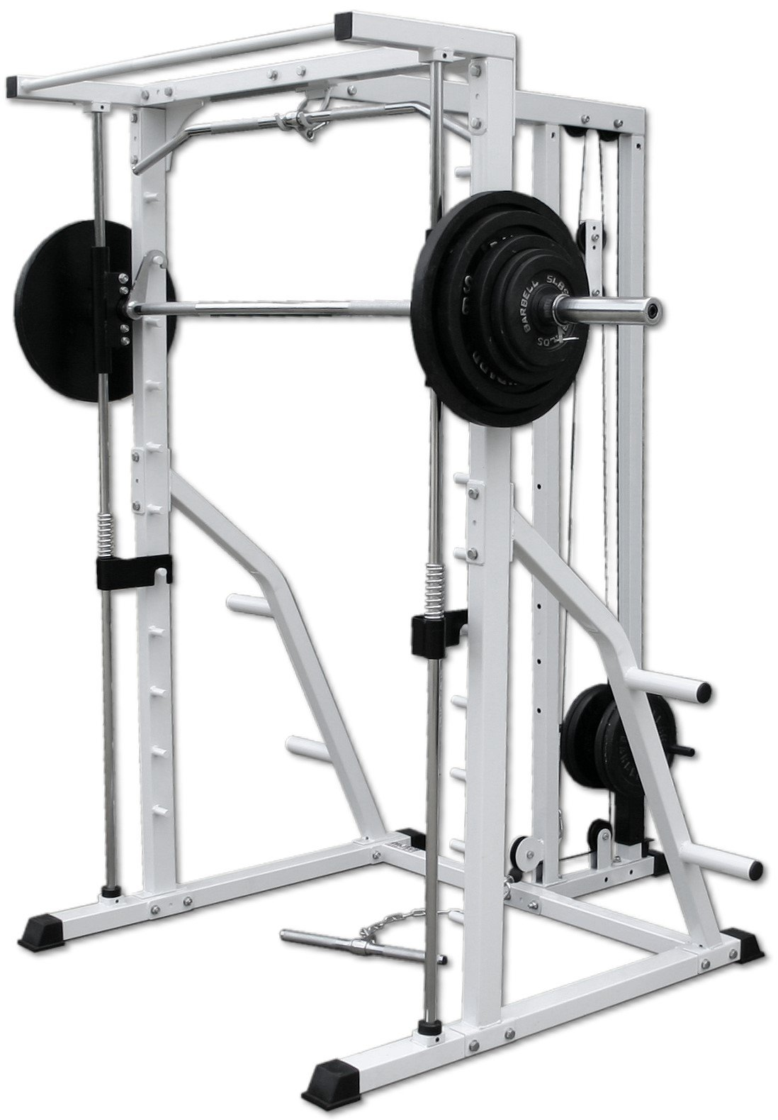 Deltech Fitness Linear Bearing Smith with Lat Attachment