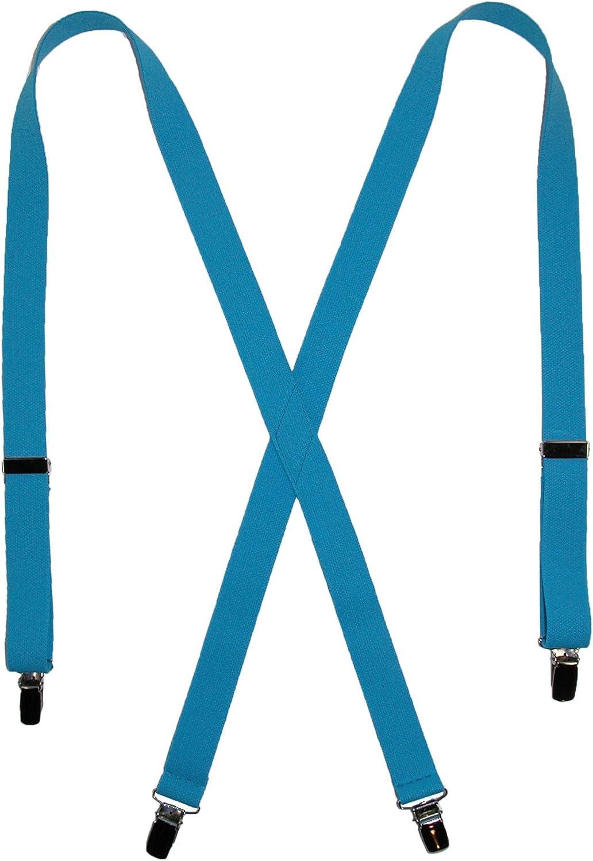 CTM Womens Elastic Clip-End 1 Inch Basic Braces
