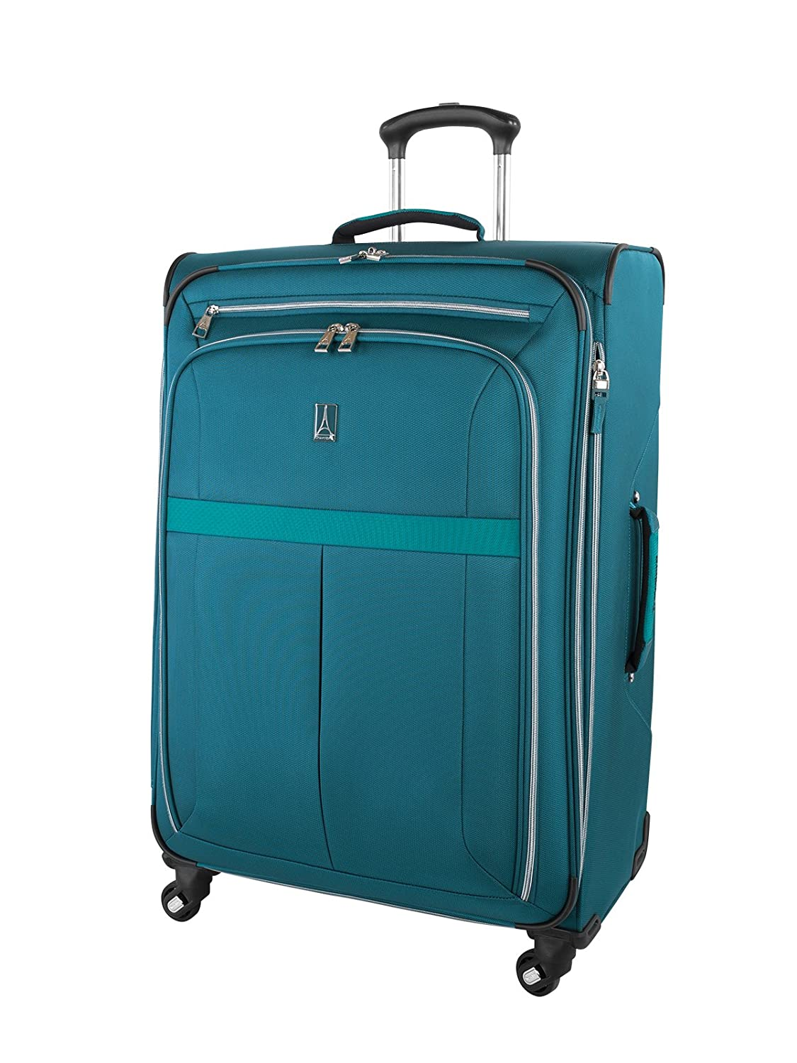 Travelpro AeroGlide Elite International Spinner Carry-on Luggage 21.5-Inch., Teal Holiday Luggage Dropship TP17669029