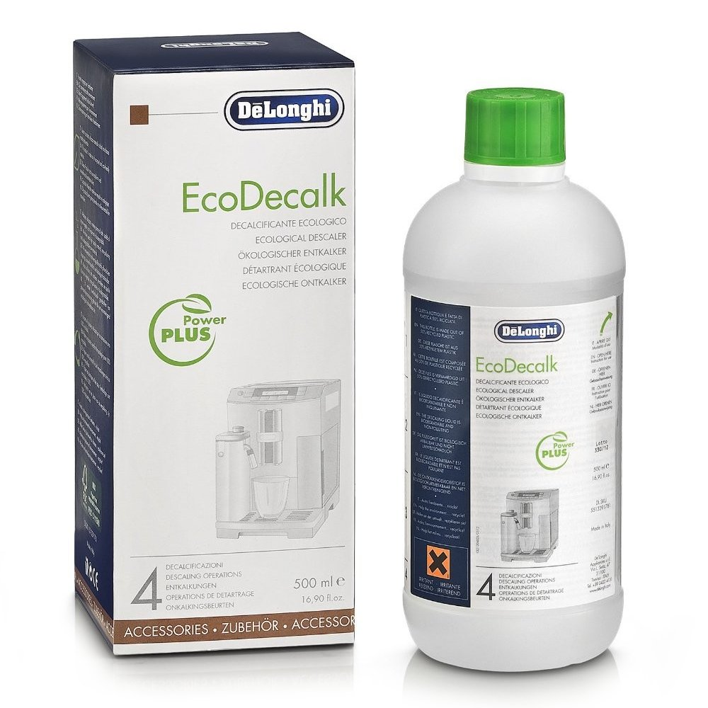 DeLonghi Eco Descaling Solution 5513291781 (Pack of 2)