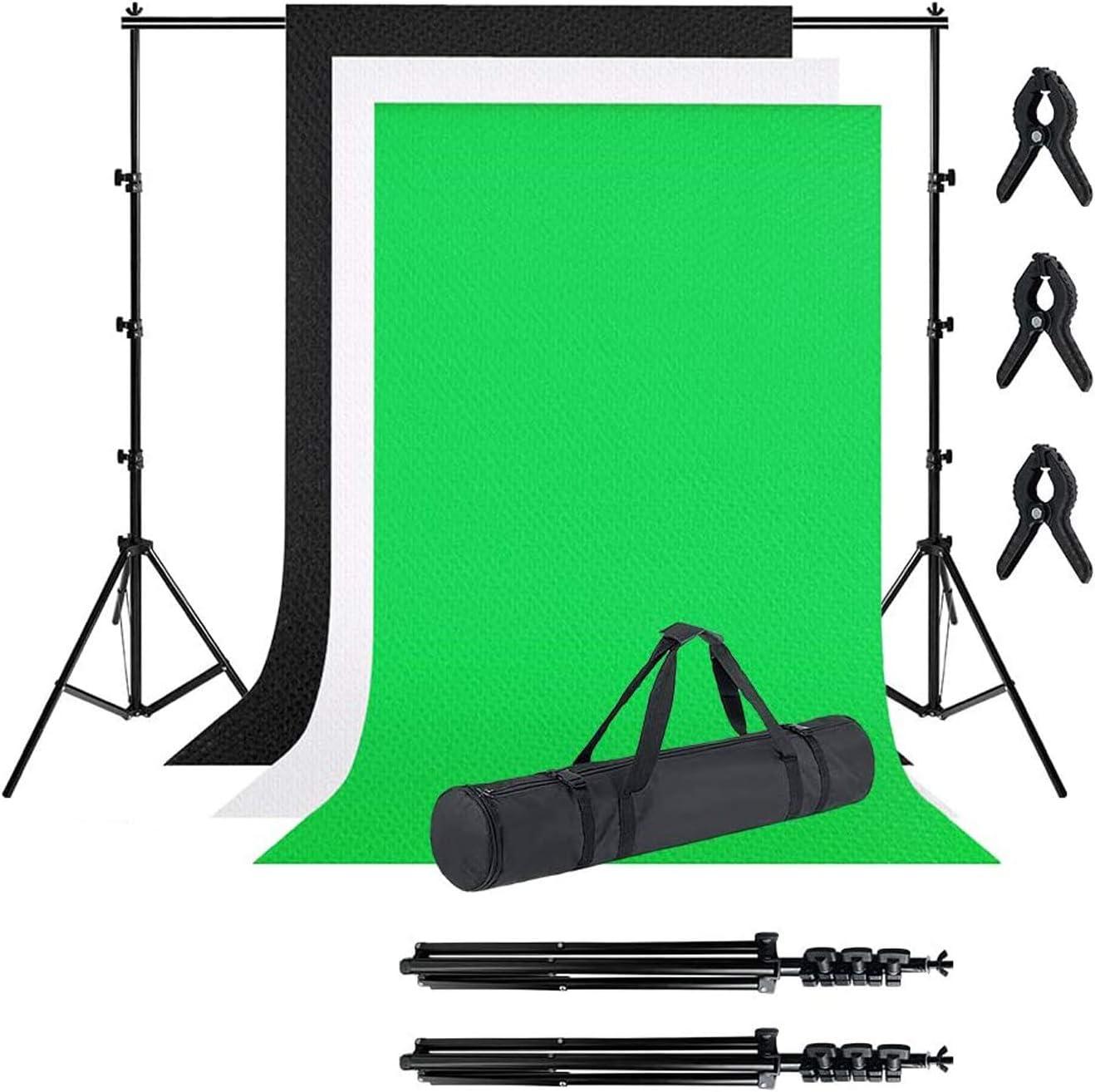 Lzq Professionelles Fotostudio Set 1 8 X 2 8m Mit Kamera