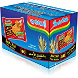 Indomie Pillow Pack Red Chili Flv, 40X80 g - Pack of 1
