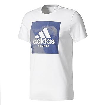 adidas Category Ten M Camiseta de Tenis, Hombre: Amazon.es ...